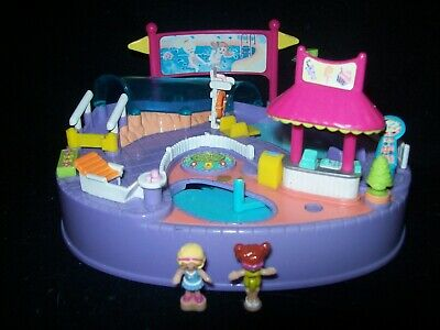 EUC 100% Complete Vintage Polly Pocket Magical Swimabout Polly 1997 (VARIATION)
