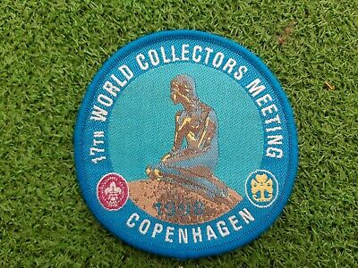 in527 INSIGNE SCOUT WORLD COLLECTORS MEETING COPENHAGEN 1998 SCOUTING BADGE