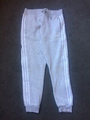 Girls Adidas Jogging Bottoms, Age 9-10 Years, Please View Photos Before Purchase