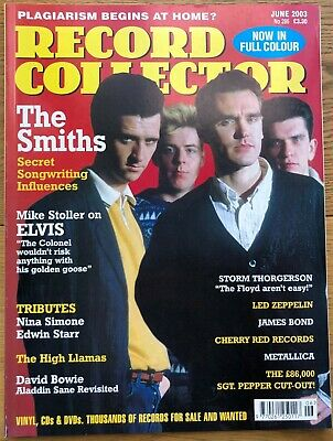 Record Collector Magazine. Issue no. 286. June 2003. Led Zeppelin, The Smiths.