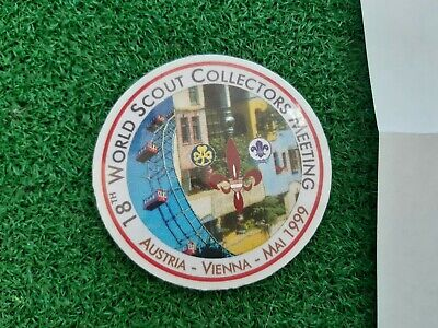 in528 INSIGNE SCOUT WORLD COLLECTORS MEETING AUSTRIA WIEN 1999 SCOUTING BADGE
