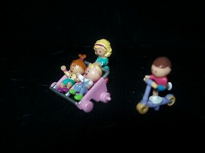 EUC 100% Complete Vintage Polly Pocket Strollin' Surprise 1994