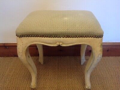 French Vintage/antique Piano Stool Cabriole Legs