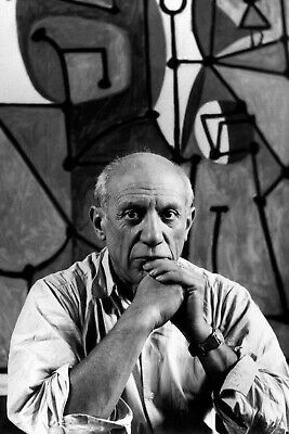New 4x6 Photo: Renown Spanish Artist and Sculptor Pablo Picasso, Cubist Art