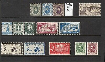 Ireland/Eire MM stamps odd fault(light crease/foxing) CAT £30+