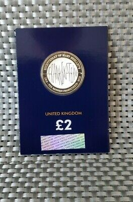 2018 Mary Shelley's Frankenstein Two Pound £2 Coin  Uncirculated