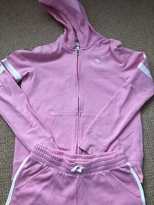 Abercrombie & Fitch Girls Set Age 15 To 16 Shorts Zip Hoodie