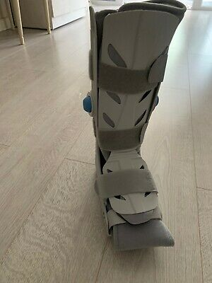 AIR WALKER Adjustable BOOT Rigid Support Air Boot Cast SIZE M Used VGC