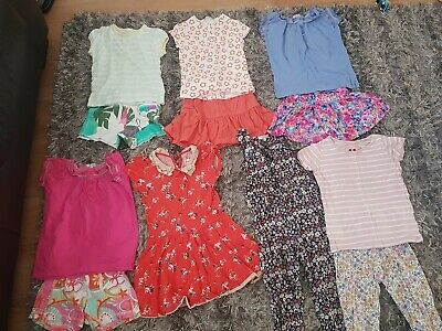 Girls Dress Play suit Shorts Tshirt age 4-5 Next Mark's and Spencer
