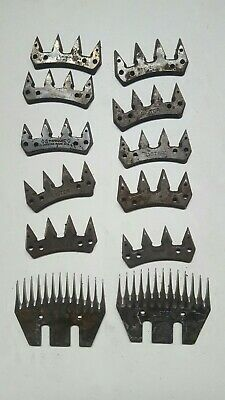 WIDE SHEEP SHEARING  2 COMBS & 10 CUTTERS lister