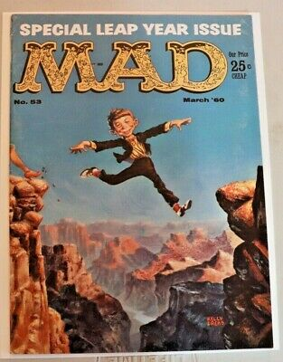 Mad Magazine March 1960 Issue #53 Special Leap Year Issue VF-NM