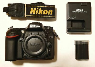 Nikon D7100 Camera Digital 24 Slr 1mp Black Body Only Amazing Gift Perfect Mint