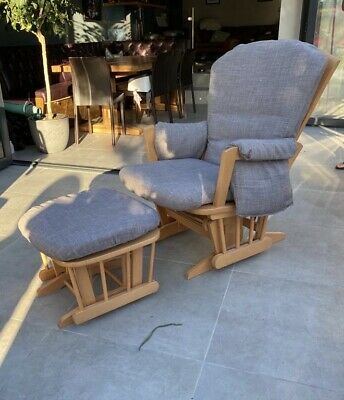 Dutalier Rocking / Nursing Chair and Stool