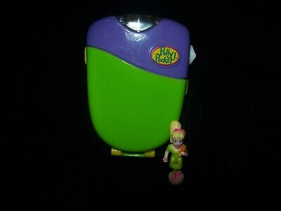EUC 100% Complete (Lights Up) Vintage Polly Pocket Flashlight Fun 1998