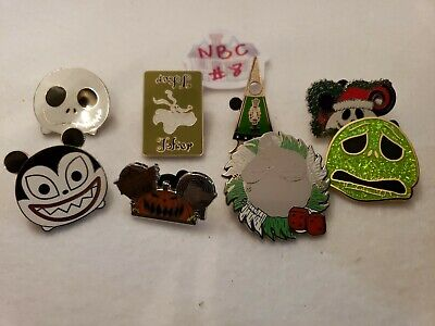 Disney NBC #8 Nightmare before Christmas Pin Lot - 8 pins