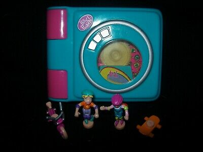 EUC 100% Complete (Plays Music) Vintage Polly Pocket Trendy Tronics Disk Player
