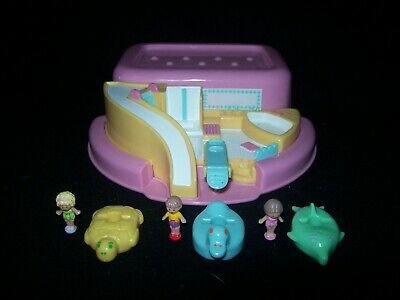EUC 100% Complete Vintage Polly Pocket Bath Time Soap Dish 1990