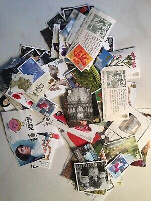 300 1st class stamps Unfranked  off Paper No Gum FV £ 228