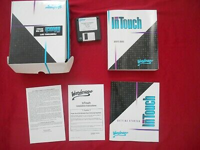 InTouch Wonderware 1995 Software Complete in Box