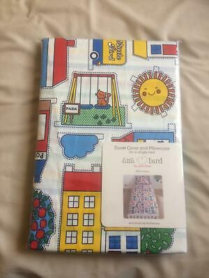New Little Bird By Jools Oliver Bedding Duvet Cover Set Single Bed