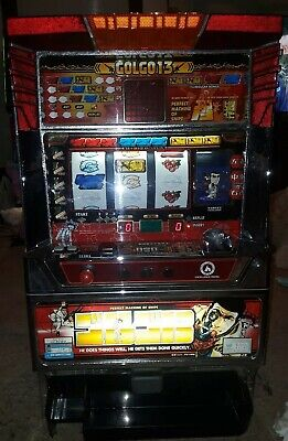 Pachislo Skill Stop Slot Machine Token Golgo13 4 reel Mission Impossible Themed.