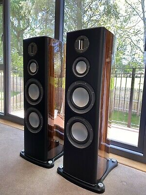 Monitor Audio Platinum PL300 MK I Pair Floorstanding Speaker Set Ebony Veneer