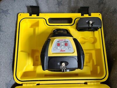 Leica Rugby 55 Rotating Laser Level - Self Leveling Professional