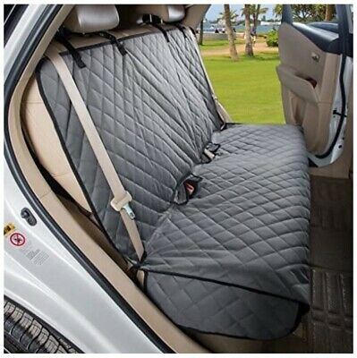 Bench Seat Cover For Pets, Waterproof, Non-slip, Seat Belt Openings