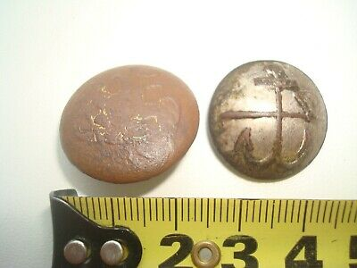 WWI Buttons of the tsarist Russian army (navy)  WW1