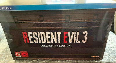 RESIDENT EVIL 3 Collectors Edition │PS4/PlayStation 4│New│