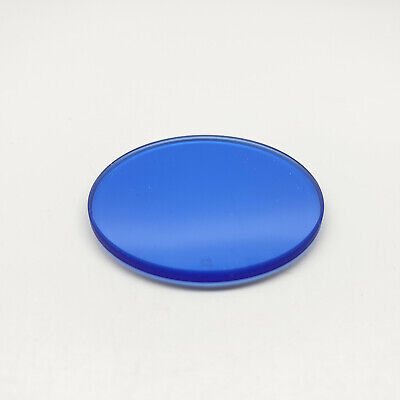 Zeiss Microscope Illuminator Lens Filter Glass Optic No. 12 Blue 1.25In Inch