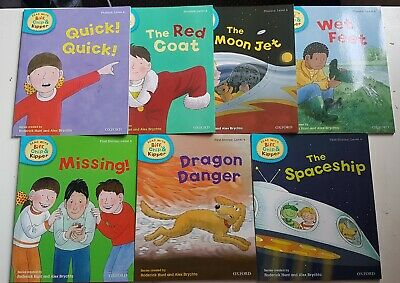 Oxford Reading Tree Read with Biff Chip and Kipper Level 4 Set  of 7 Books