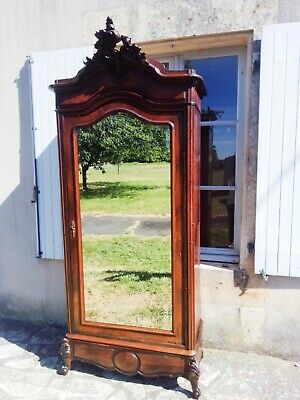 Antique French Rococo Armoire,  Louis XV Style