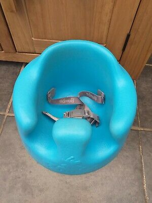 Blue Bumbo With Straps