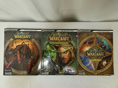 3 World of warcraft books strategy guides Dungeon companion Burning crusade