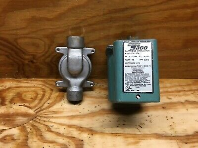 TACO 006-ST4-1 Hot Water Circulator Pump,SS,1/40 HP used in a church for 1 year