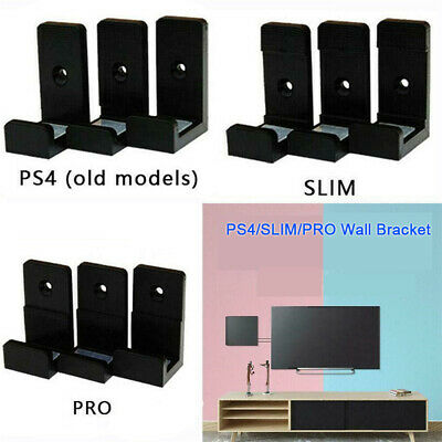 Holder Host Rack Wall Mount Console StandFor Sony PlayStation4 PS4 Slim Pro