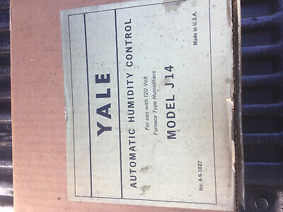 Yale automatic humidity control model J14