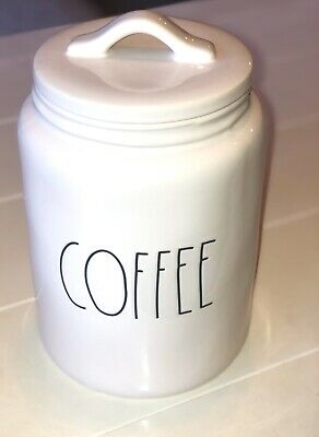 Rae Dunn COFFEE Canister LL HTF Farmhouse Rare By Magenta