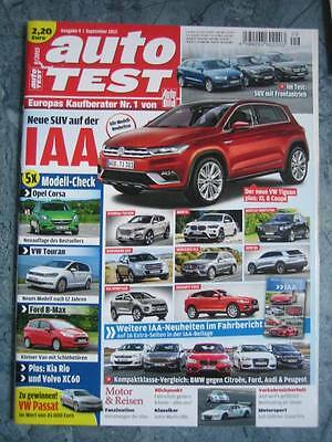 auto Test Ausgabe 9 September 2015