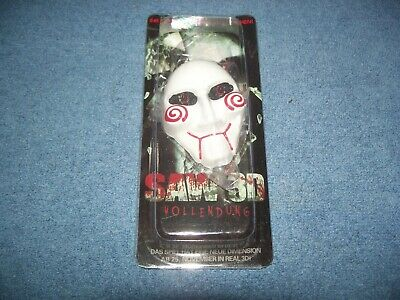 Vintage Saw the Movie 3D German Movie Premier Giveaway Keychain Key Chain 2 1/2""