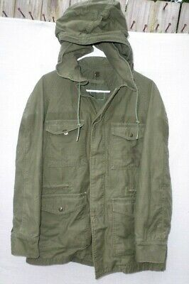 Us Military Vietnam Era Cold Weather Usaf Parka Jacket Small Missing Tag Used