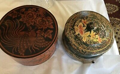 Two Lacquer Boxes