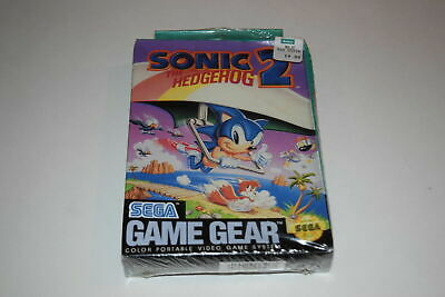 Sonic The Hedgehog 2 Sega Game Gear Video Game New Sealed 11 73 Picclick