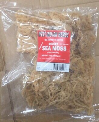 Sea Moss, Irish Moss West Indian Herbs 25 LB. Read Description  BEFORE buying!