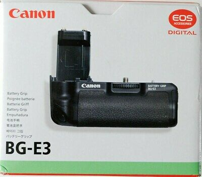 Canon BG-E3 Battery Grip .Original box and packing includes instruction leaflet.