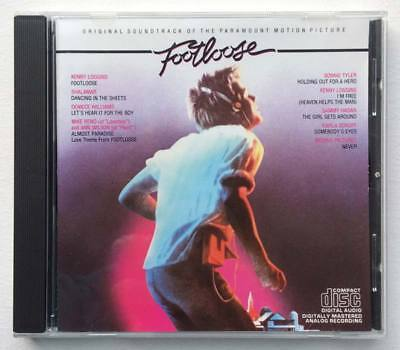 Footloose Original Soundtrack CD 1984 disc album 9 SONGS Motion picture movie