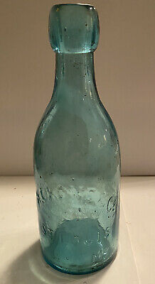 Antique 1800s H. CRONE & Co.  ST. LOUIS Mo Glass Soda Water Bottle