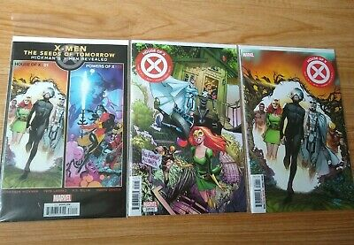 HOUSE OF X 1 + Ramos Variant + Promo Lot - HICKMAN (Marvel 2019) 1st Printings