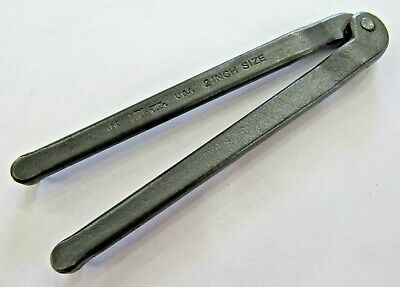 """Martin Tools No. 482 2"""" Inch Size Adjustable Spanner Wrench Usa Ex"""